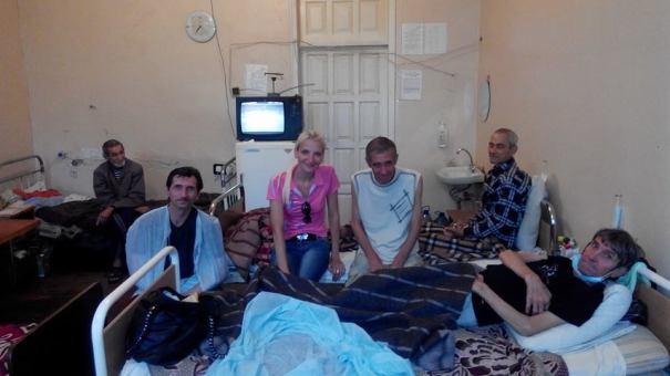 Больничное служение 2014